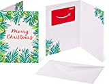 Amazon.com Gift Card in a Greeting Card -  Holiday Leaves Design