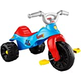 Fisher Price Kids Thomas The Tank Engine Tough Trike Pedal and Push Toddler Tricycle for Boys with Wide Wheelbase