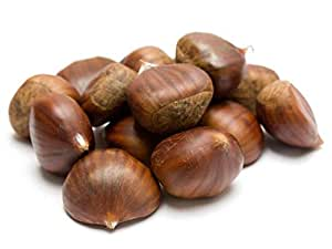 Frank and Sal European Sweet Chestnuts Castania Chestnuts Fresh 2 Pounds 50/70 Calibre