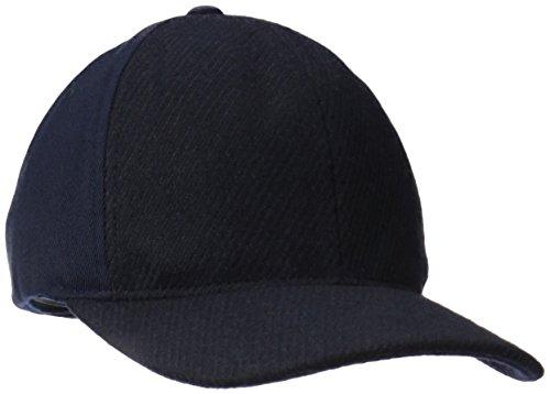 (Kangol Men's Textured Wool Baseball, Navy, Large/X-Large)