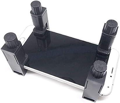 Soporte para tel/éfono m/óvil antioxidante Aleaci/ón de Aluminio Montaje de Abrazadera m/óvil con 1//4 Flash Soporte de Zapata para c/ámara DSLR Bindpo Abrazadera del tel/éfono