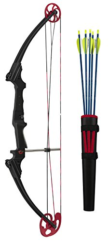 Genesis Compound Bow - Genesis Kit - RH Black