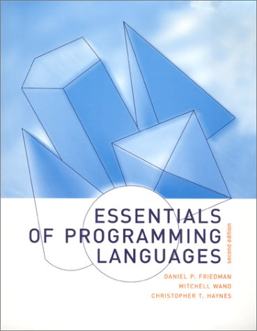 Essentials of Programming Languages - 2nd Edition by Brand: MIT Press