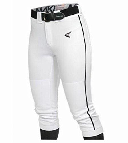 Easton Women's Mako Piped Pants, White/Black, X-Small