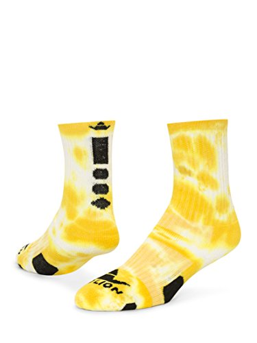 RedLion Red Lion Maxim Tie Dye Athletic Socks ( Gold / White - Small )