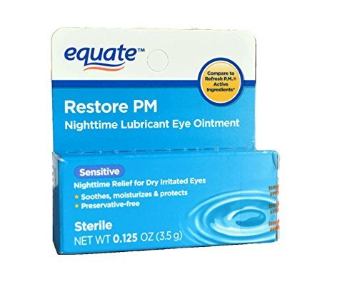 Equate Nighttime Lubricant Eye Ointment, Compare to Refresh Twin Pack (2 ()
