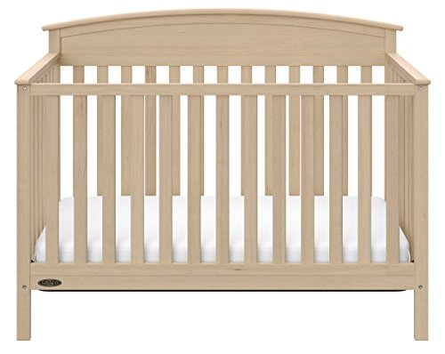 Graco Benton 5-in-1 Convertible Crib Driftwood