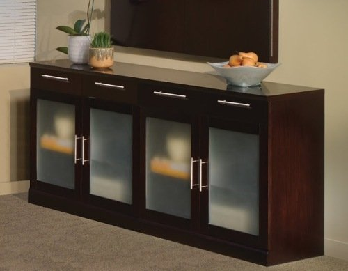 Mayline Sorrento Credenza Sorrento Series Buffet Cabinet 72