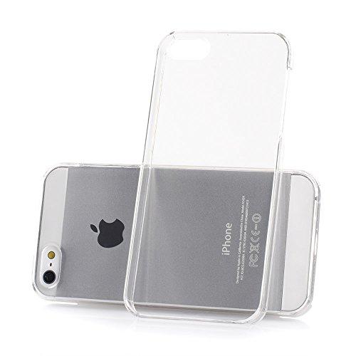 iPhone 5 5s SE Ultra Slim Handyhülle / Schutzhülle / Handy-Schale Case Smartphone Cover | Extrem Dünn & Leicht | Crystal Case | 100% passgenaue Hülle für Apple iPhone 5 / 5s / SE von MC24