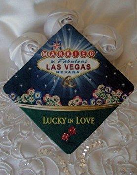 Married in Las Vegas Coasters, Set of 24