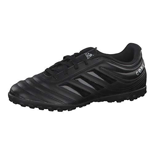 adidas Men Football Shoes Turf Boots Futsal Copa 19.4 Soccer Black New (EU 47 1/3 - UK 12 - US 12.5) (Best Futsal Shoes For Wide Feet)