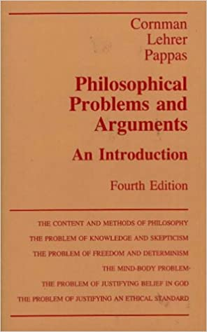 Amazon com: Philosophical Problems and Arguments: An Introduction