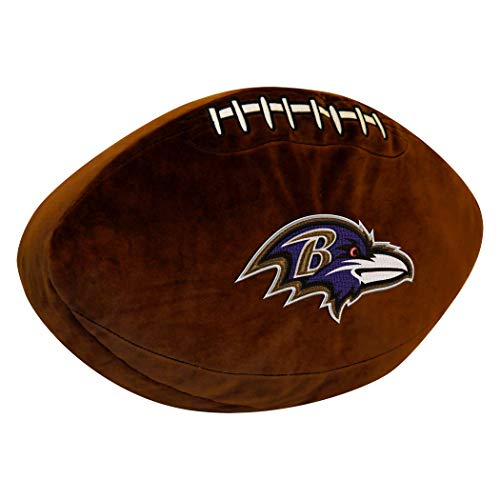 Officially Licensed NFL Baltimore Ravens 3D Sports Pillow