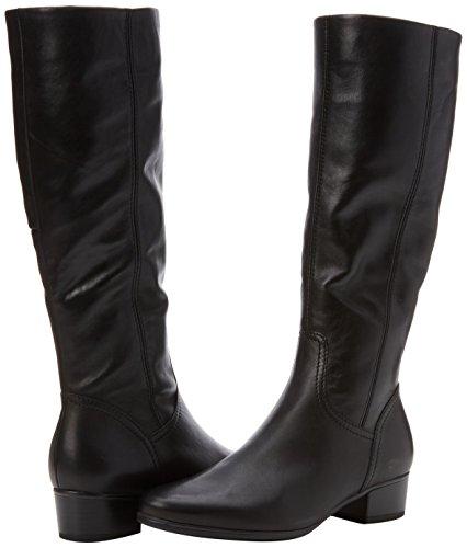Negro Schwarz Gabor Botas Gabor Mujer Basic Shoes para 27 qrq4wfzP