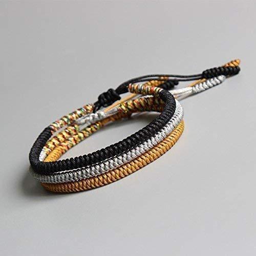 (TALE Lucky Rope Bracelet Tibetan Buddhist Handmade Knots - Confidence)
