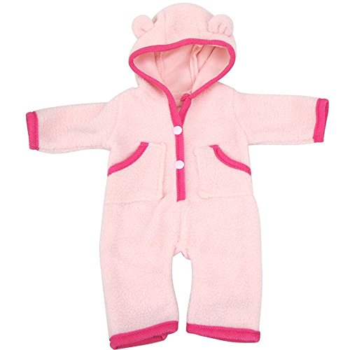 Bitty baby Doll Clothes, AOFUL Mini Custom Design Pajamas Outfit for 16''-18'' Inches american girl doll and accessories (Bitty Baby Cloth)