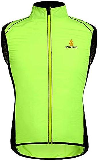Cycling Jacket Jersey Vest Wind Coat Windbreaker Jacket Outdoor Sportswear Green