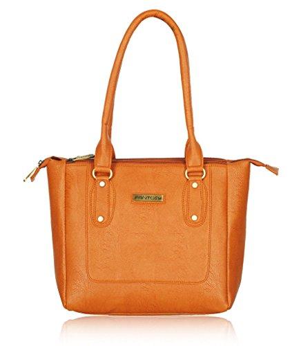 Fantosy women handbag (FNB-630) Tan