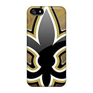 IzT18657JnAH New Orleans Saints Fashion Tpu 5/5s Case Cover For Iphone