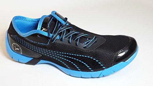 Future cat lT super **43 eUR chaussures chaussures baskets chaussures de course pour homme noir/bleu léger