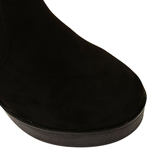 Footwear Sensation - Botas para mujer - PD4-Black Suede
