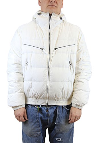 Men Jacket Down White Bianco Kejo Goose Gaiking Patch wqnRfp