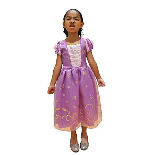Rapunzel Princess Costume Tangled Princess Dress (Medium -
