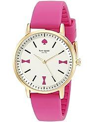 kate spade new york Womens 1YRU0870 Crosby Analog Display Japanese Quartz Pink Watch