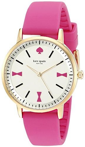 kate spade new york Womens 1YRU0870 Crosby Analog Display Japanese Quartz Pink Watch