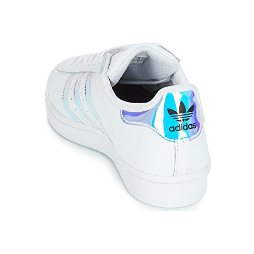 Weiß Superstar adidas Low Kinder Unisex J Top pEwwUY7q