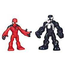 Playskool Heroes Scarlet Spider-Man and Venom Figures