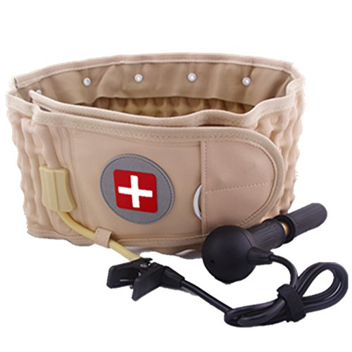 Lumbar Spinal-air Decompression Brace Decompression Back Belt - Lower Back Pain Relief - One Size for 29 inches to 49 inches Waists