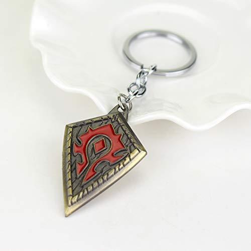 World of Warcraft Inspired – Horde Banner Key-chain (Bronze)
