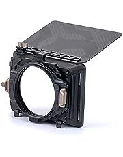 Tilta 4x5.7 inch Filter Frame Mirage Matte Box for DSLR / Mirrorless Camera's ، met 67mm / 72mm / 77mm / 82mm Lens Ring Basic Zachte Draagtas MB-T16