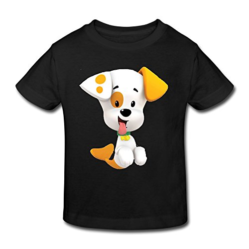 KNOT Swag Bubble Guppies Bubble Puppy Kids Toddler T Shirt Black US Size 3 Toddler -