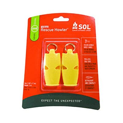 Adventure Medical SOL Rescue Howler - Two Pack One Color, One Size