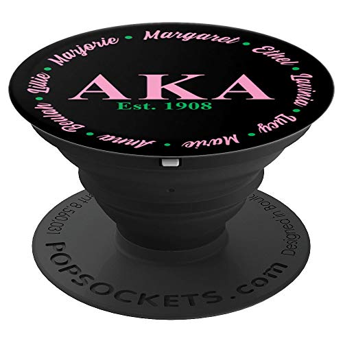 AKA Founders - AKA Paraphernalia - 1908 - PopSockets Grip and Stand for Phones and Tablets