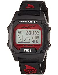 Tide Quartz Plastic and Nylon Sport Watch, Color:Black (Model: