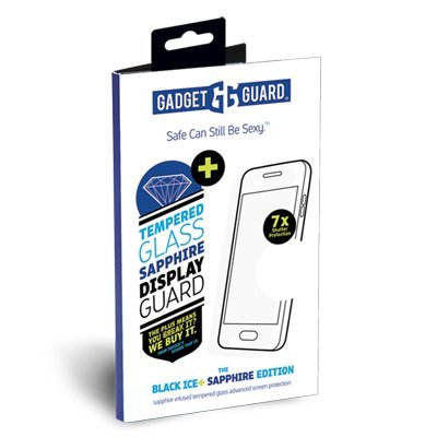 Cheap Screen Protectors Gadget Guard Black Ice Plus Sapphire Edition Extra Strength Tempered Glass Screen..