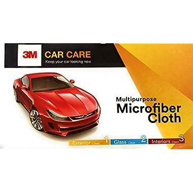 3M Car Care Microfiber Cloth (3 Pieces) 12
