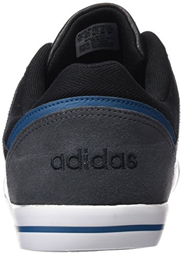 adidas NEO Herren Cacity Low-Top Schwarz / Grau / Blau (Negbas / Grpudg / Gassur)