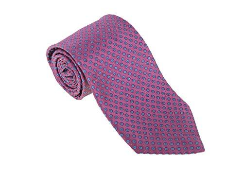 cesare-attolini-napoli-mens-pink-with-blue-motif-handmade-satin-silk-necktie