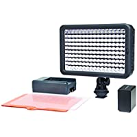 Polaroid Elite Series Professional 160 LED Video Light for HD Quality Videography