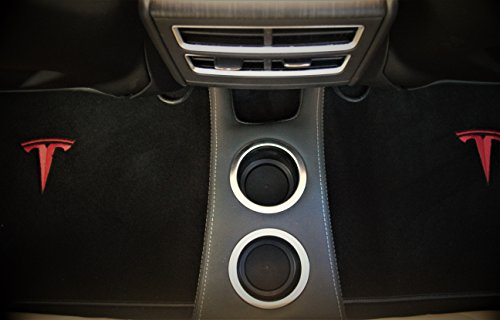 EVamped Rear Cup Holder-Floor Console for Tesla Model S, Tesla Console (NON-USB) by EVamped