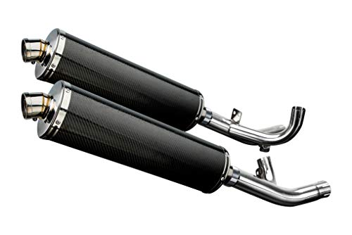 Delkevic Aftermarket Slip On Yamaha VMAX 1700 18