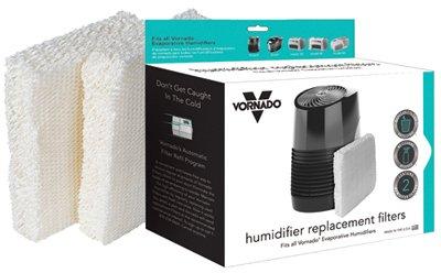 Vornado Heat MD1-0002 Universal Humidifier Wick, 2-Pk. - Quantity 6