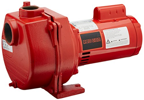 Cast Iron Sprinkler Pump - Red Lion RLSP-150 1-1/2-HP 50-GPM Cast Iron Sprinkler Pump