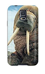 ChrisWilliamRoberson ZTvAuxM11112MXWNY Case Cover Skin For Galaxy S5 (sea Lion Background)