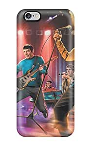 Hot Snap-on The Star Trek Band Hard Cover Case/ Protective Case For Iphone 6 Plus