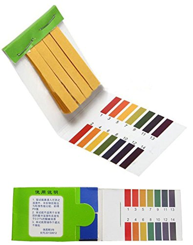 Rapitest Pond Test (80 Tester Outstanding Popular pH Test Strips Body Water Practical Acid Alkaline Universal with Color Chart)